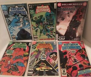Batman And The Outsiders Comic Book Lot Of 5 + Batwoman