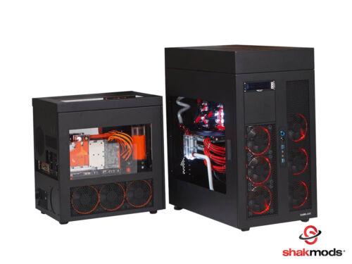100 Maschio ATX//EPS PCI-e Crimpare PERNI PER PC ALIMENTAZIONE p4 p8-Nuovo con Scatola Nera