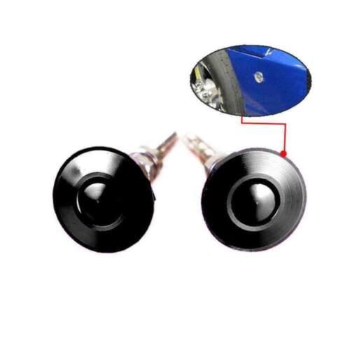 2x Quick Latches Push Button Racing Car Hood Pin Bonnet Lock Bumper Clip US Ship