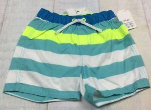 432396f3ed79d Baby Gap Boys 12-18 Month Swimming Trunk Shorts. Bright Striped Swim ...