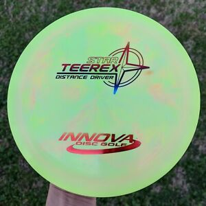 Rare-PFN-Swirly-Star-Teerex-Disc-Golf-Innova-168g-NEW
