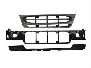 For E-150 03-07 Front Bumper Cover Spacer Panel Primed