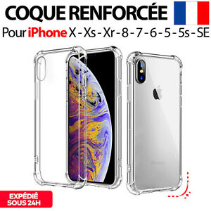 coque antichoc xs iphone