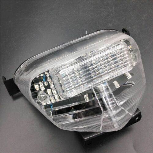 Clear Motorcycle LED Tail Light For Suzuki GSXR600//750 2001-03 GSXR1000 2001-02