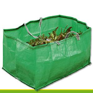 270L-Gartentasche-BarrowBag-Laub-Aste-Pflanzen-Blumen-Abfall-Kompost-Bio