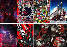 Persona 5 Art Print Poster Characters Adventure RPG Video GameA4 A3 A2 A1