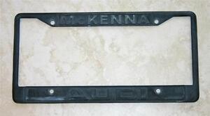 McKenna Audi Dealer Norwalk CA License Plate Frame Current - Mckenna audi