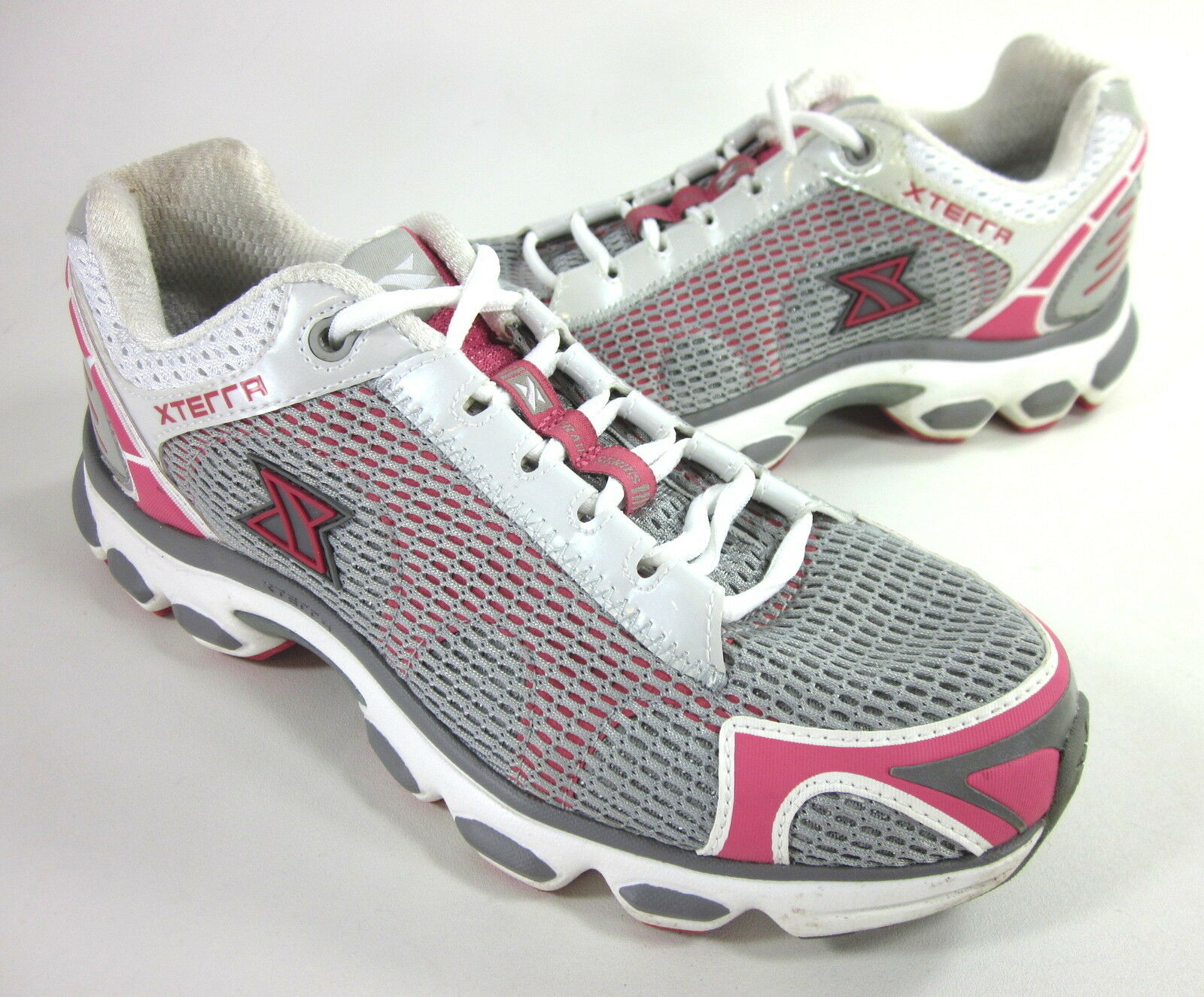 XTERRA TRAIL Damenschuhe FW21002 XR 1.0 TRAIL XTERRA RUNNING SHOE THUNDERCLOUD/HOT PNK US SZ 9.5 M 5414b3
