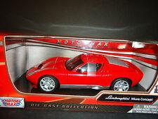 Motormax Lamborghini Miura Concept Red 1/24