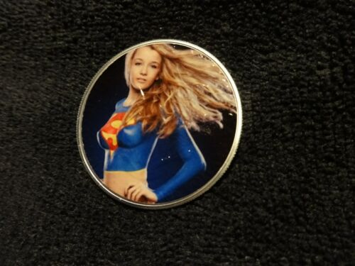 """2020 Silver Eagle Colorized /"""" Super Women /"""" Limited to 20 all new awesome"""