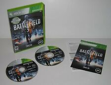 XBOX 360 Battlefield 3 (2 Discs) USED Disc Case Manual Works Great