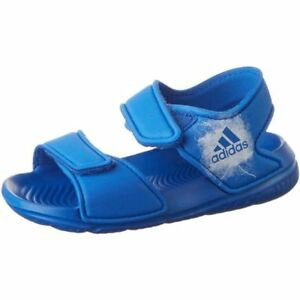 Details about adidas Altaswim G I Blue WHT Slide Sandal Hook & Loop Boy  Toddler Size 4-9 New