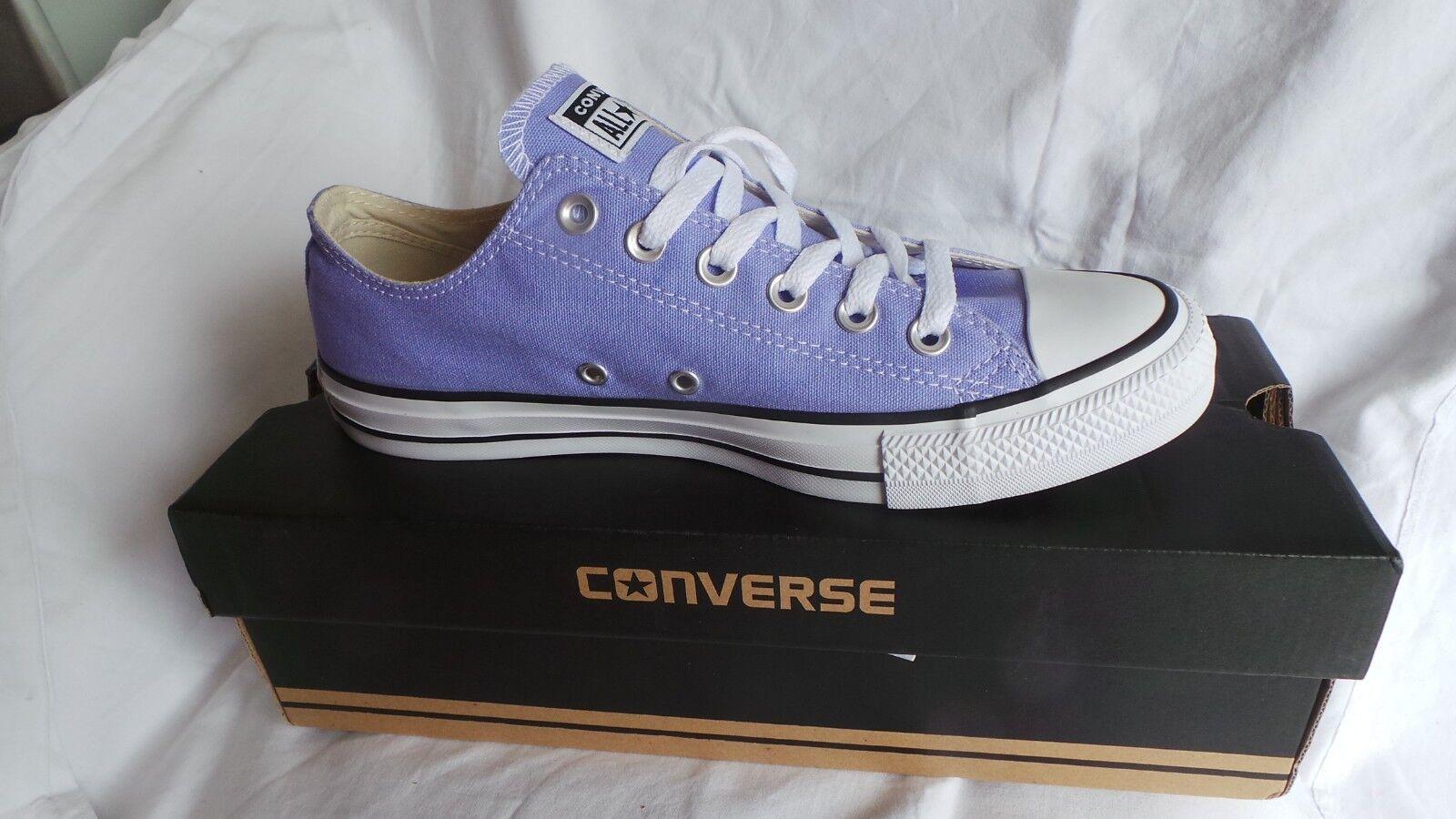 Brand NEW in box Converse Chuck Taylor Size All Star Ox Trainer Size Taylor 8 EU41.5 Lavende 0ddec4