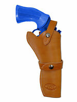 Barsony Tan Leather Western Style Gun Holster For Charles Daly 6 Revolvers