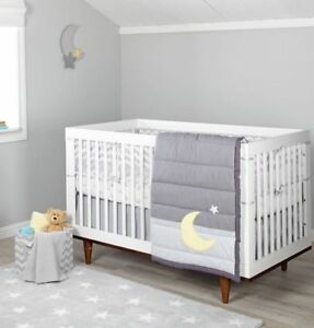 Little Love By Nojo Mix Amp Match Moon Amp Star 3 Piece Crib