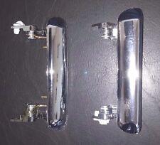 Datsun/Nissan B110 Door handle outside front chrome PAIR (LH+RH)