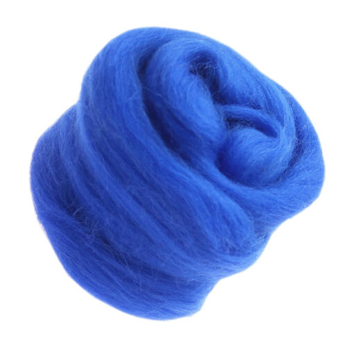 Fashion Wool Needlefelting Roving Dyed Spinning Felting Fiber Spinning Materials