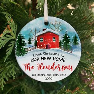 tree decoration Ohio HOME Personalized Christmas Ornament