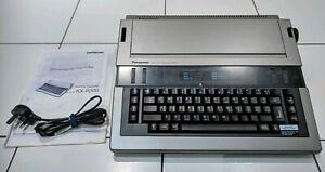 Panasonic-Electronic-Typewriter-KX-R300-with-Power-Lead-Manual-Working