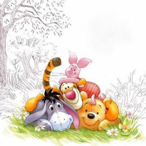 Disney/'s Winnie The Pooh Friends Cross Stitch Pattern