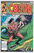 Conan the Barbarian #154 (Marvel 1984 vf+ 8.5) Michael Fleisher & Gary Kwapisz