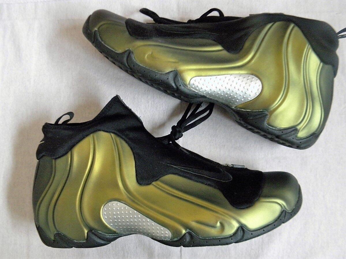 Nike Air Flightposite I One 1998 1999 SC gold OG Original sz 11.5 Penny vintage