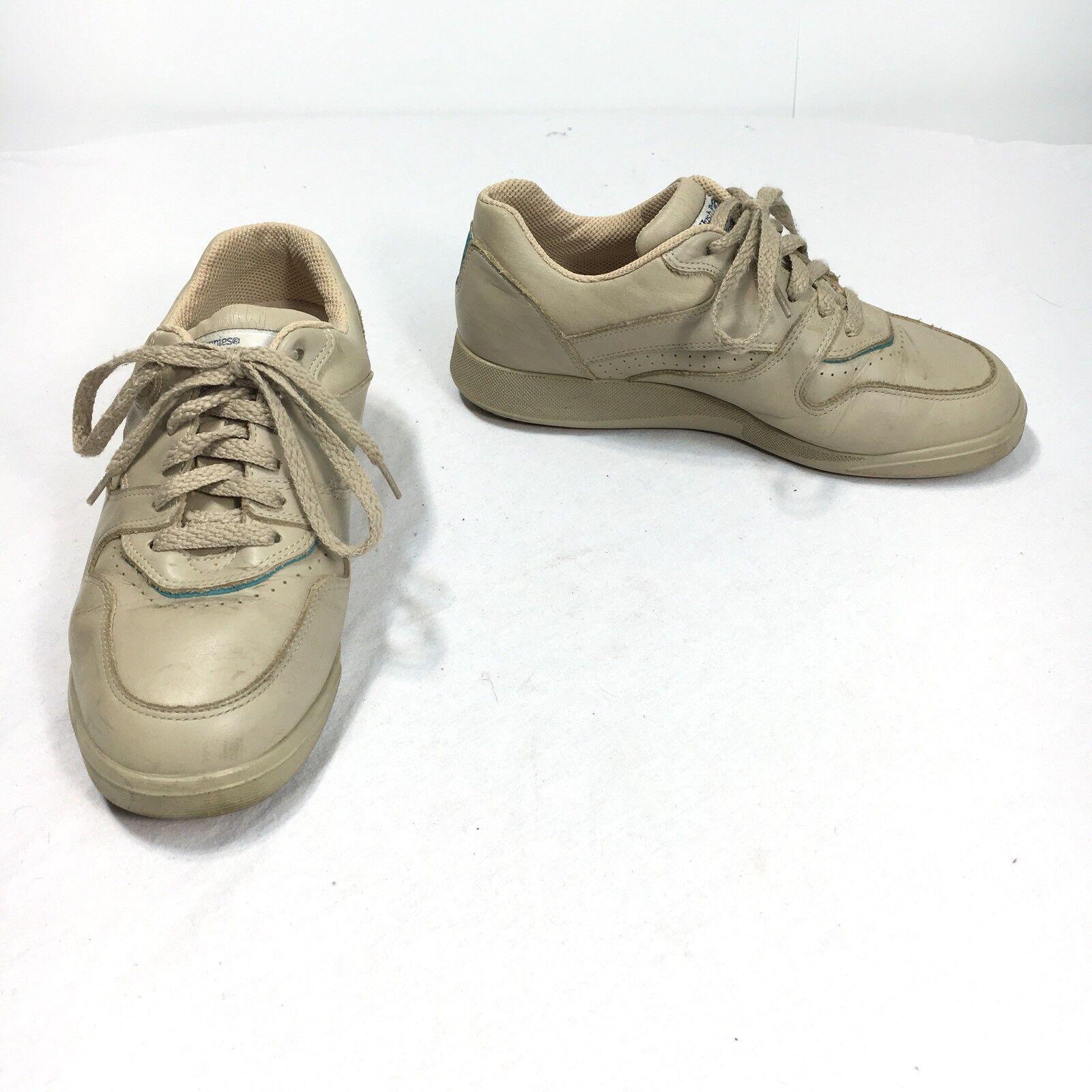 Hush Puppies Bounce Upbeat Women's 7 W Shoes Wide Brown Beige Walking Shoes W 15f5c9