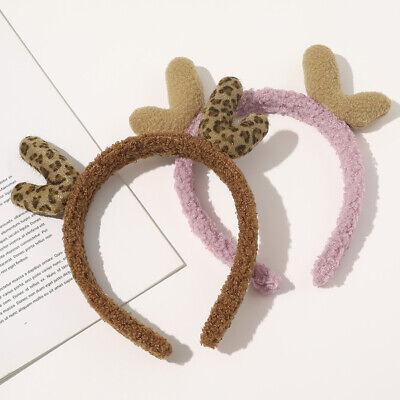 Christmas Hair Hoop Cute Cartoon Antler Headband Wash Face Hair Accessories