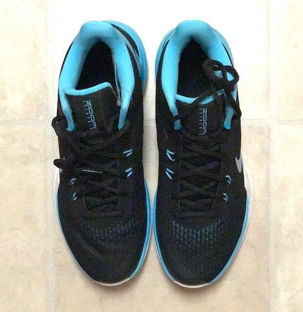 Nike Zoom Evidence Black / Blue 852464-004 (Men's) Size 8 NEWwith box