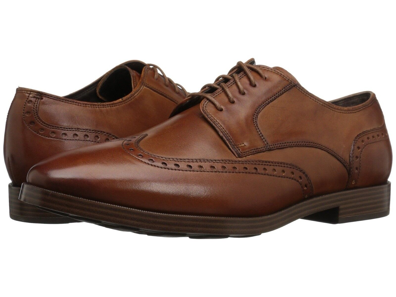 Cole Haan Men's Jay Grand Ox Wing shoes British Tan C23775 US Sizes