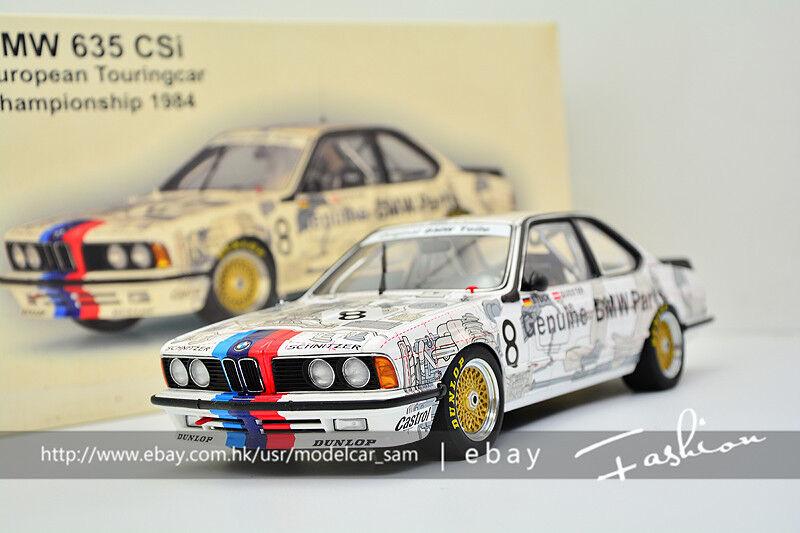 bilkonst 1 18 BMW 635 CSi 1984