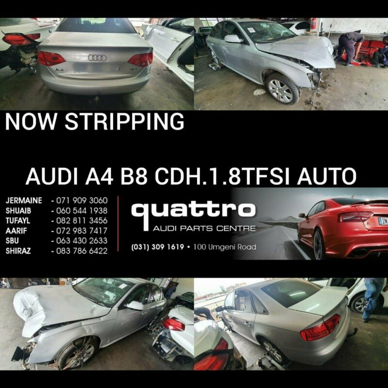 AUDI A4 B8 1.8 TFSI AUTO STRIPPING FOR SPARES