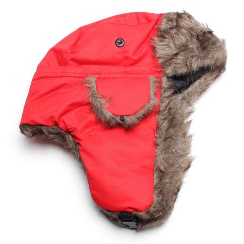 Damen Herren Balaclava Thermo Wintermütze Mützen Fleece Sturmhaube Hut Earflap