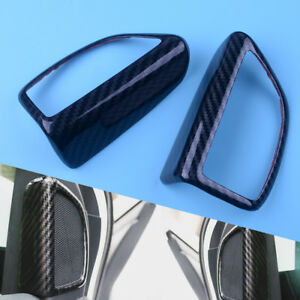 Pair Of Chrome Side Door Mirror Decorative Cover Trim For Ford Focus 3 2012-2018