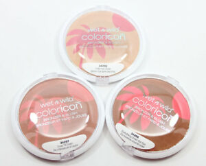 2-Pieces-Two-Wet-n-Wild-Color-Icon-Bronzer-amp-Blush-Choose-Your-Shade