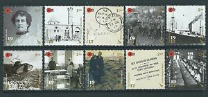 NEW ZEALAND 2017 THE DARKEST HOUR WWI SET OF 10 UNMOUNTED MINT