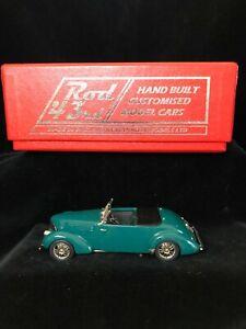 In-scatola-BROOKLIN-Rod-43rd-5-1940-Graham-Hollywood-CONVERTIBILE-Modello-Diecast-1-43