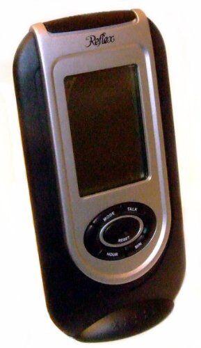 Reflex bedside travel digital talking alarm clock
