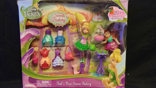 Disney Fairies Tink/'s Pixie Sweets Bakery Playset Jakks Pacific 2015