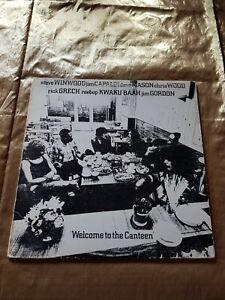 Vinyl-LP-ausSammlung-TRAFFIC-Welcome-to-the-Canteen-Canada-1974