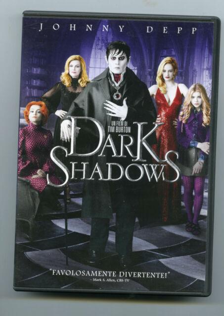 Dvd Dark Shadows TIM BURTON JOHNNY DEPP