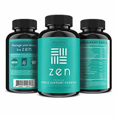 Zen Anxiety and Stress Relief Supplement Natural Herbal ...