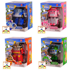 ROBOCAR-POLI-Robot-Trasformabili-Personaggi-11cm-by-Silverlit
