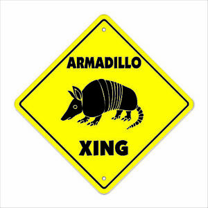 Armadillo-Crossing-Decal-Zone-Xing-Indoor-Outdoor-texas-rodent-road-kill