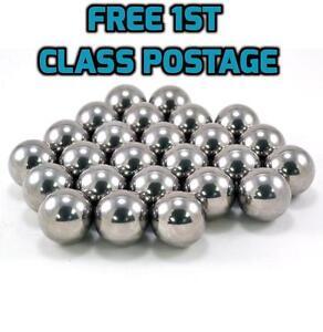 "5//32/"" 3//16/"" 7//32/"" /& 1//4/"" 500 Piece Assorted Loose Bicycle Bearing Balls 1//8/"""