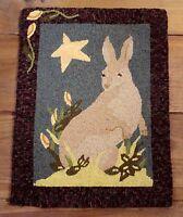 Primitive Punch Needle Pattern bunny Beauty