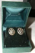 NEW IN BOX KIT Heath Celtico Orecchini in argento 1994 Nodo Celtico Stud
