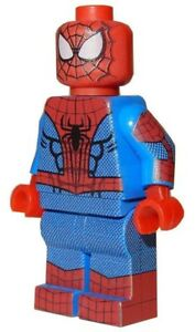 New lego custom printed amazing spider man marvel spiderman minifigure ebay - Lego the amazing spider man 3 ...