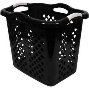New-Home-Logic-2-Bushel-Lamper-Storage-Laundry-Basket-Black-Free-Shipping