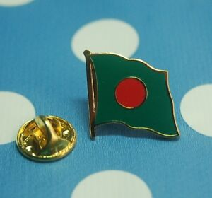 Bangladesch-Pin-Anstecker-Flaggenpin-Anstecknadel-Button-Badge-Sticker-AS